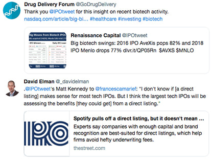 Tweets from Renaissance Capital's users, picture five.